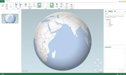 GeoFlow Preview for Excel