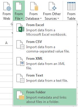 список файлов в папке